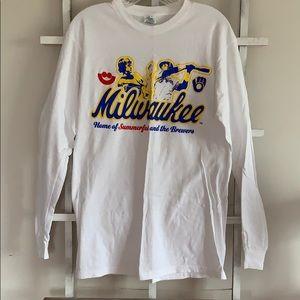 Milwaukee Brewers long sleeve